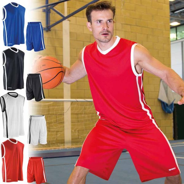 S278M BASKETBALL MENS QUICK DRY komplet